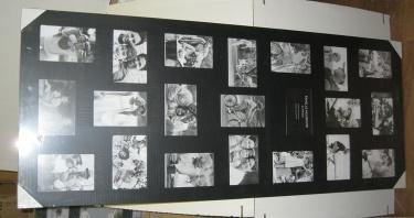 """Фото коллаж для 12 фотографій """"Біле на Чорному"""" опт Henzo WESTMINSTER"""