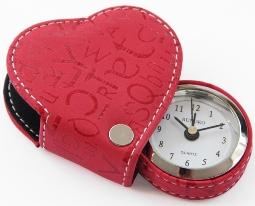 Часы, оригинальный будильник в форме сердца красный Любовь