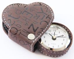 Часы, оригинальный будильник в форме сердца Шоколад Дешево
