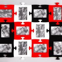 красно-бело-черная мультирамка на стену купить оптом