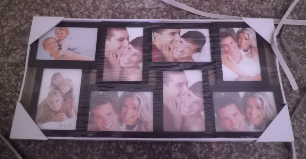 Black photo frame HIDU imported by Runoko