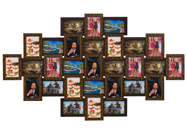 дешево фото-коллаж подарок на юбилей