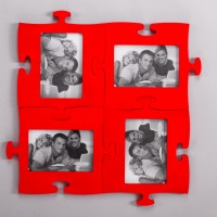 fire red photo frame puzzle produced in Ukraine, export possible