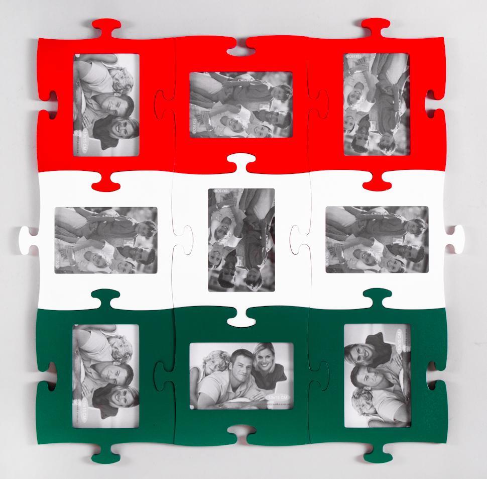 Фото рамка пазлы своими руками