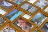 Стильна золота рамка для фотографій Львів та Івано-Франківськ