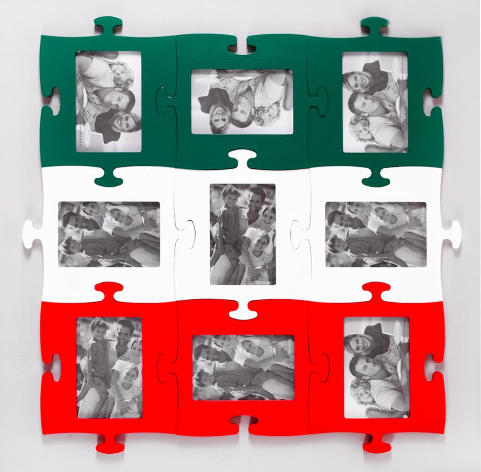 Яркая цветастая рамка оптом от производителя деревянных подарков