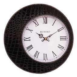 Дизайнерские Часы кожаные настенные Киев