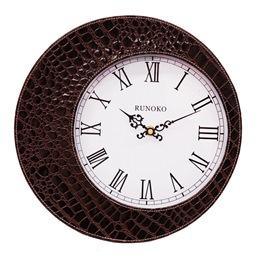 Дизайнерские Часы кожаные настенные Купить