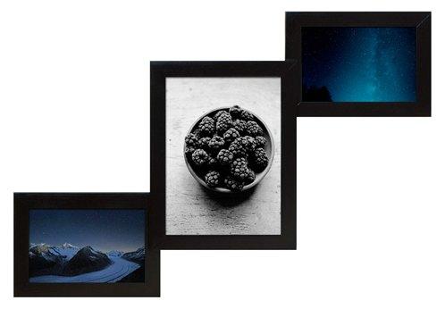 фоторамка настінна чорна Луцьк, Рівне, Житомир купити в інтернеті з доставкою Новою Поштою
