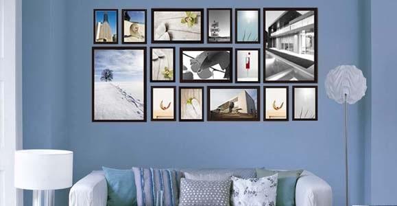 Стена из фотографий на стену своими руками