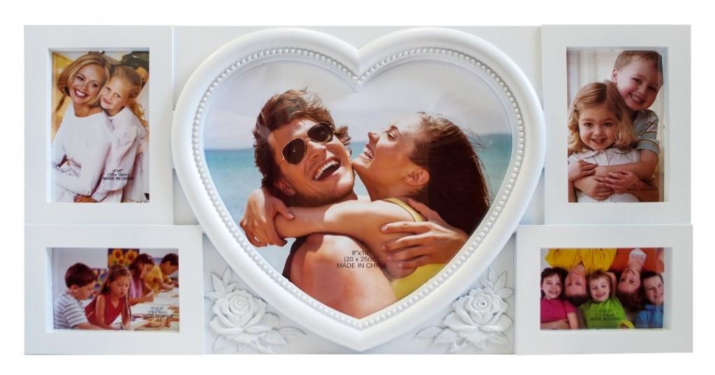 фоторамка подарункова на 8 березня з сердечком Житомир