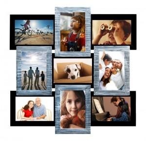 Коллаж фото Серебрянное Мерцание оптом