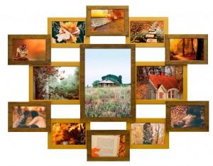 Велика рамка на багато фотографій купити в Києві
