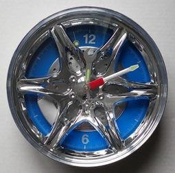 Часы диск синие подарок для автолюбителя Киев