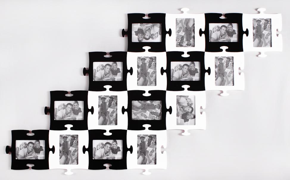 Фоторамки коллаж - разместить фотографии всех сотрудников